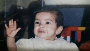 Siddhi Mahajankatti's childhood picture