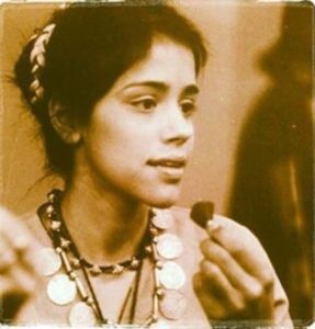 Taranjit Kaur during her first theatre performance