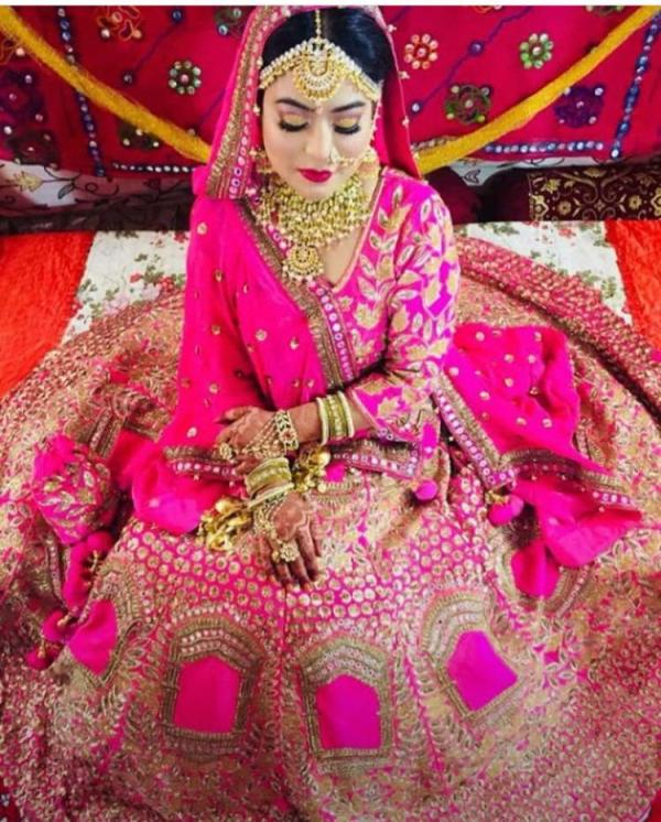 The Wedding Day Photo of Safoora Zargar