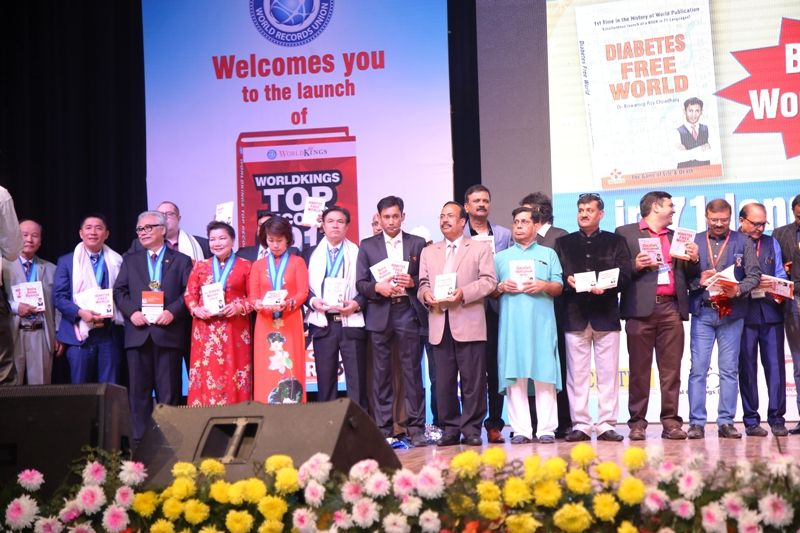 """Dr Biswaroop Roy Chowdhury on the launch of his book """"Diabetes Free World"""""""