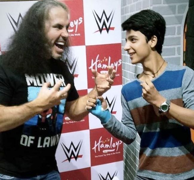 Viren Vazirani With Matt Hardy