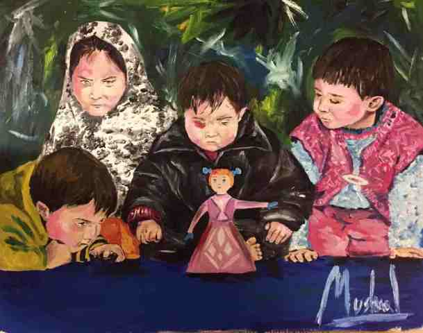 An art by Mushaal Mullick