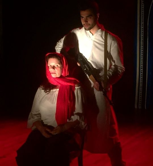Ankur Rathee in a play