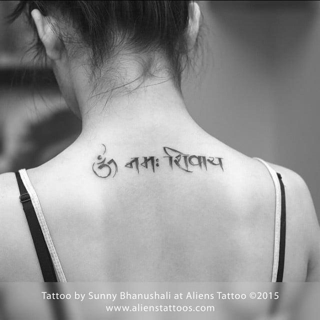 Bhawna Khanduja tattoo