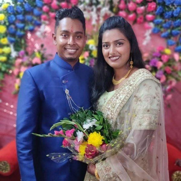 Deepika Kumari With Her Husband Atanu Das