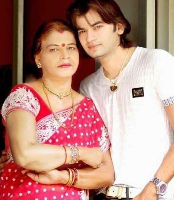 Dr Abhinit Gupta With His Mother