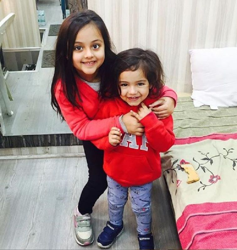 Ivana Kaur With Her Brother