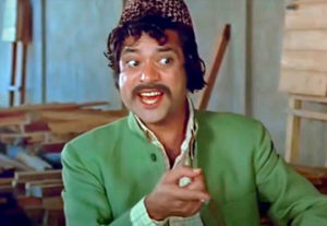 Jagdeep in Sholay