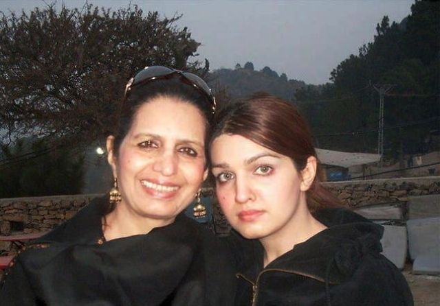 Mushaal Mullick and her mother