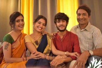 Priyanka Jain and her family