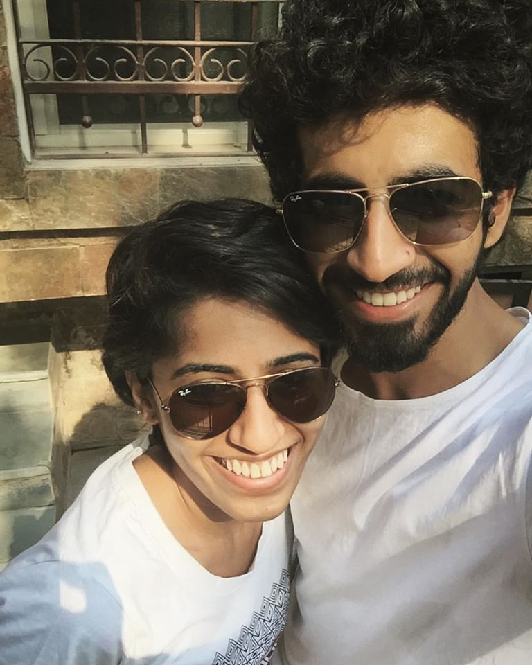 Roshan Mathew With His Sister