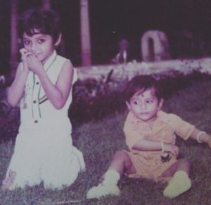 Rupali Ganguly's childhood picture