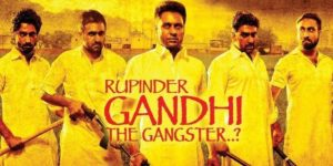 Rupinder Gandhi- The Gangster Poster