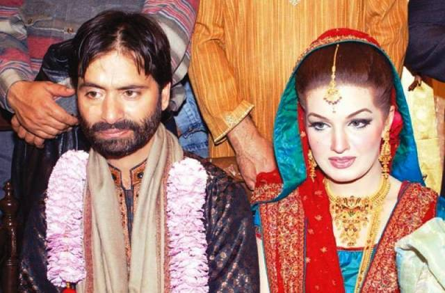 Wedding day picture of Mushaal Mullick and Yasin Mullick