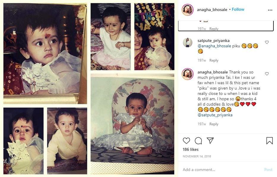 Anagha Bhosale's Instagram Post