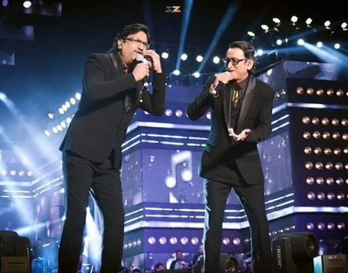 Atul Gogavale and Ajay Performing Live
