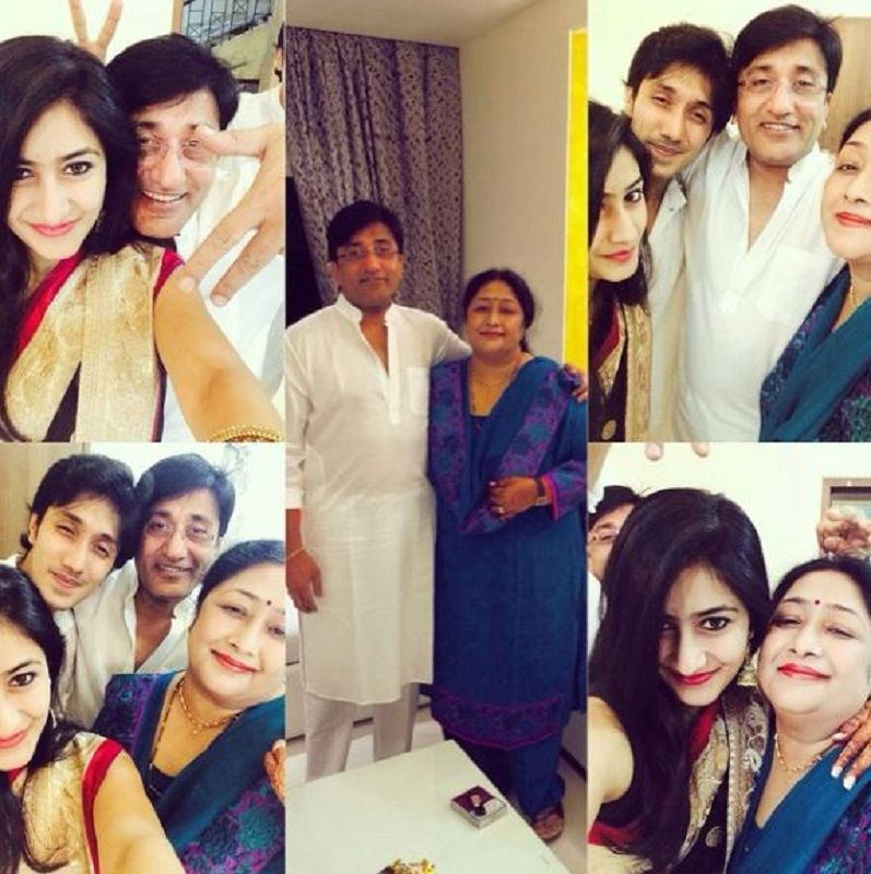 Dhanashree Verma With Her Family