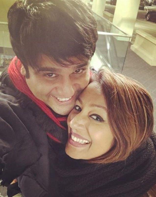 Krushna Abhishek With Kashmera Shah