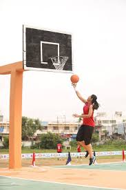 Prachi Tehlan playing Basketball