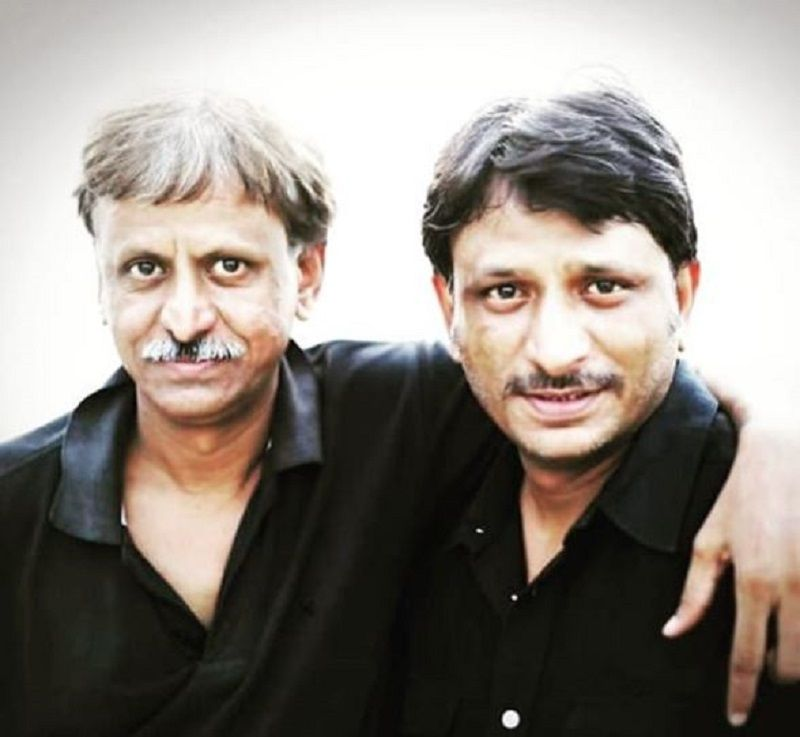 Rajesh Tailang With His Elder Brother