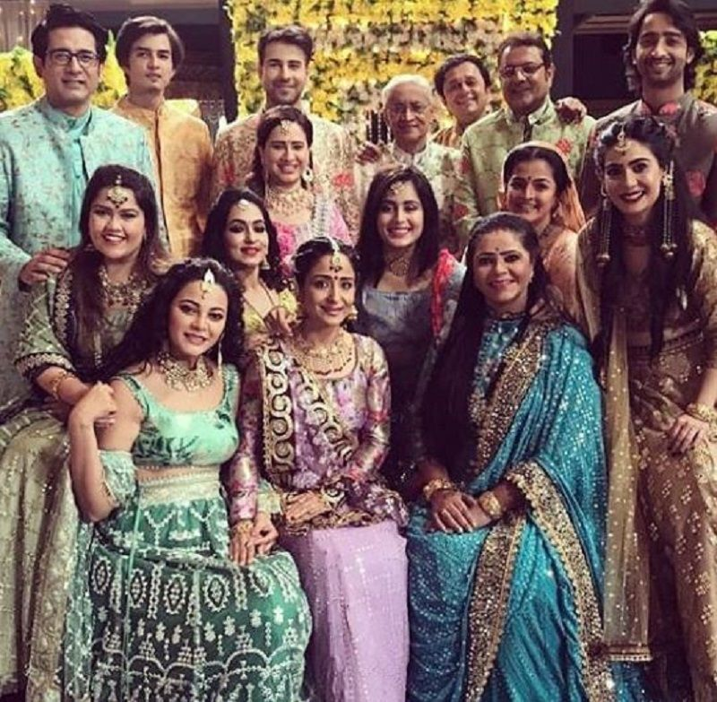 Samir Sharma on the Sets of Yeh Rishtey Hain Pyaar Ke