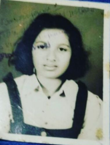 Shanoor Sana Begum in her school days