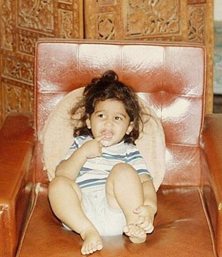 A Childhood Picture of Abijeet Duddala