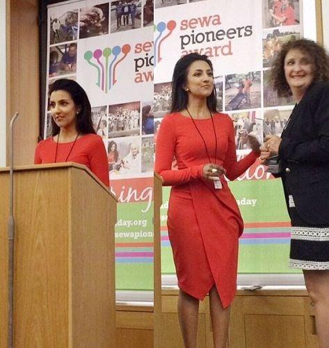 Avina Shah at Sewa Pioneers Awards