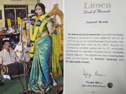 Karate Kalyani's Limca Book of Record