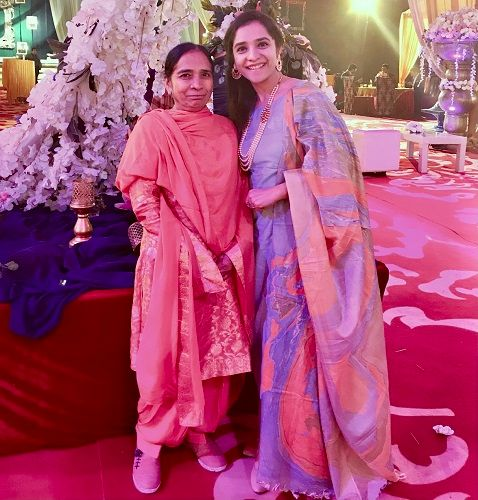 Lavleen Kaur With Her Mother