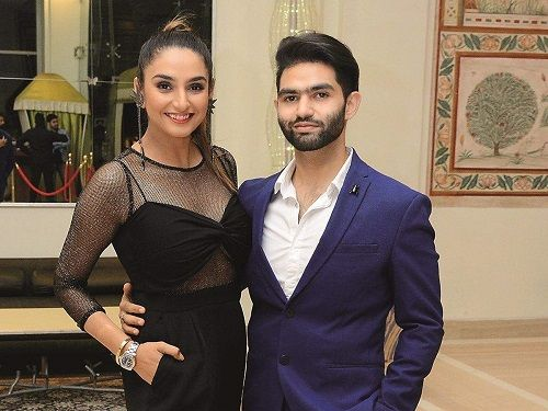 Ragini Dwivedi and Her Brother