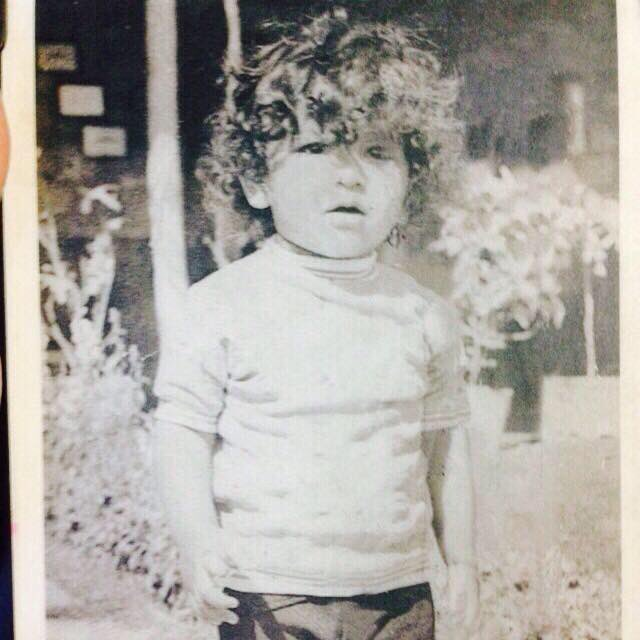 A childhood picture of Gaurav Arya when he was three years old