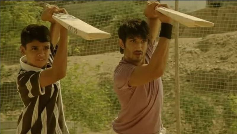 A still from Kai Po Che showing Digvijay Deshmukh Ali with Sushant Singh Rajput