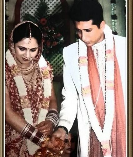 Archana Chandhoke's Marriage Photo