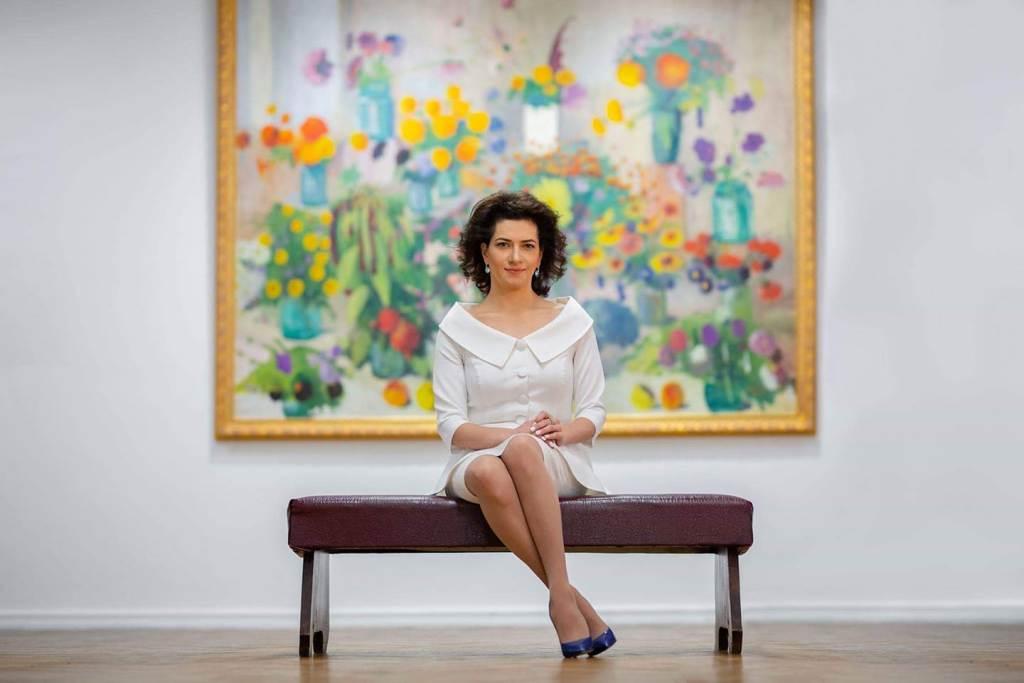 Armenian Prime Minister Nikol Pashinyan's wife Anna Hakobyan