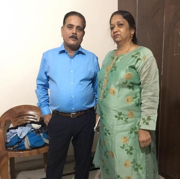 Gaurav Kapoor's parents