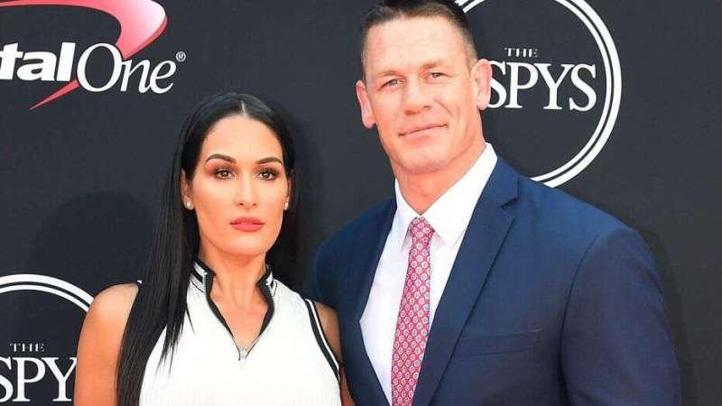 John Cena with ex-fiancee Nikki Bella