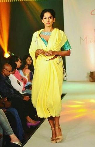 Samyuktha Karthik Walking the Ramp