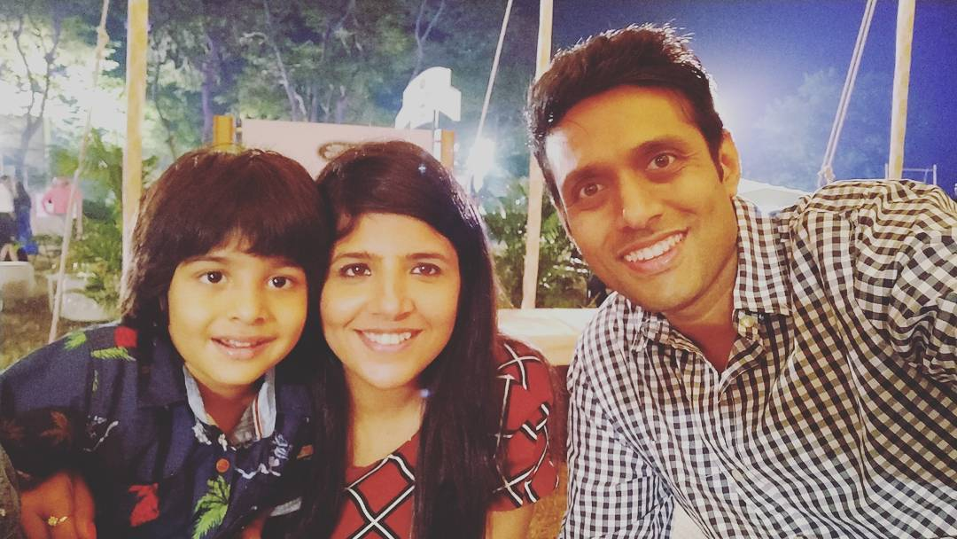 Swati Khandelwal with her family