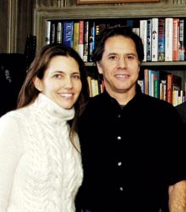 An old photo of Antony Blinken and his wife Evan Ryan