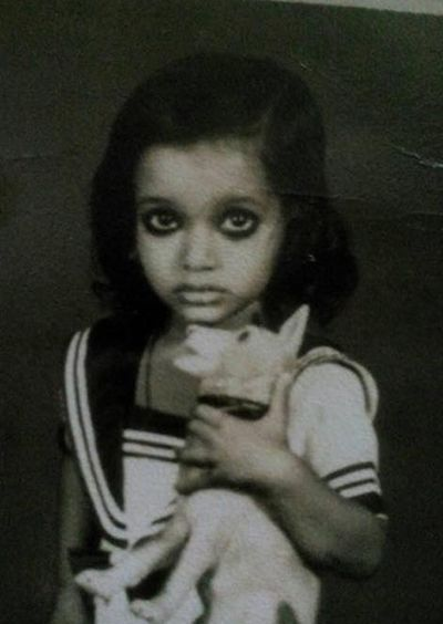 Laxmi Narayan Tripathi as a Child