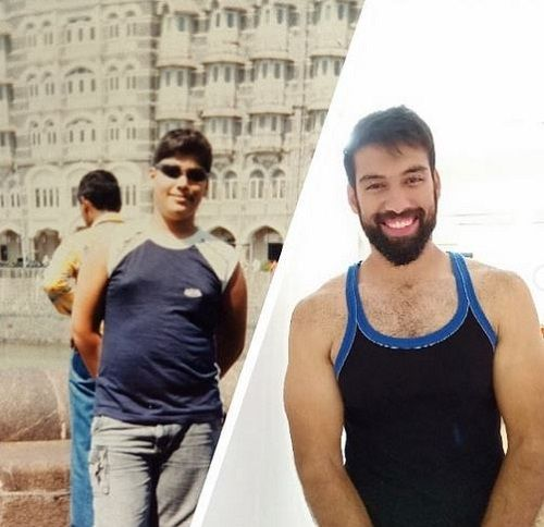 Milind Chandwani's Then and Now Picture