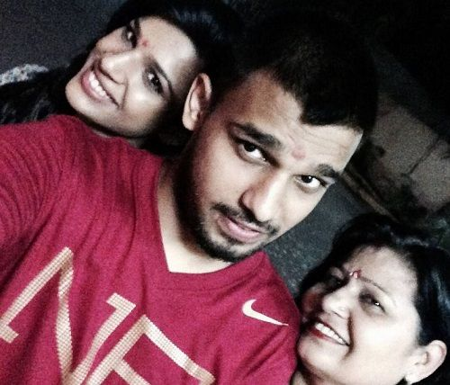 Naina Singh With Her Brother