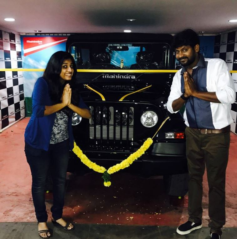 Rio Raj with his Thar