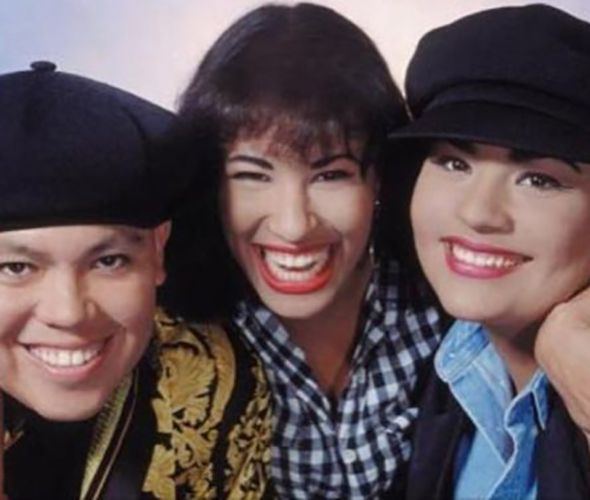 Selena Quintanilla with her Siblings