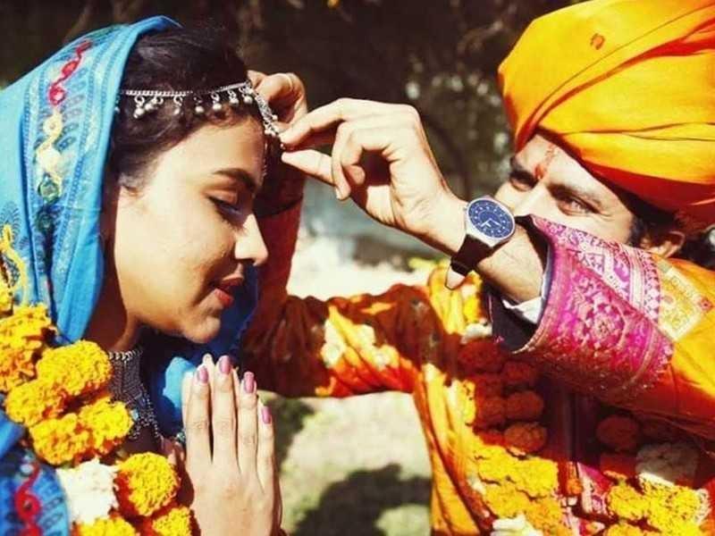 Viral wedding photos of Amala Paul and Bhavinder Singh