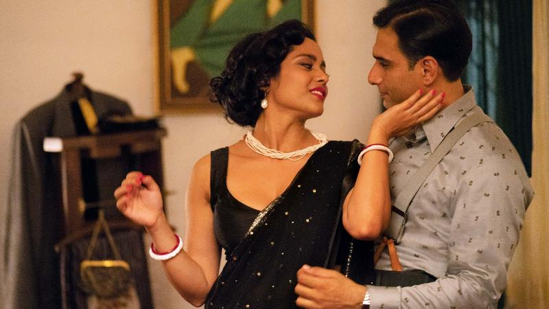Vivek Gomber and Shahana Goswami in a still from the web series A Suitable Boy
