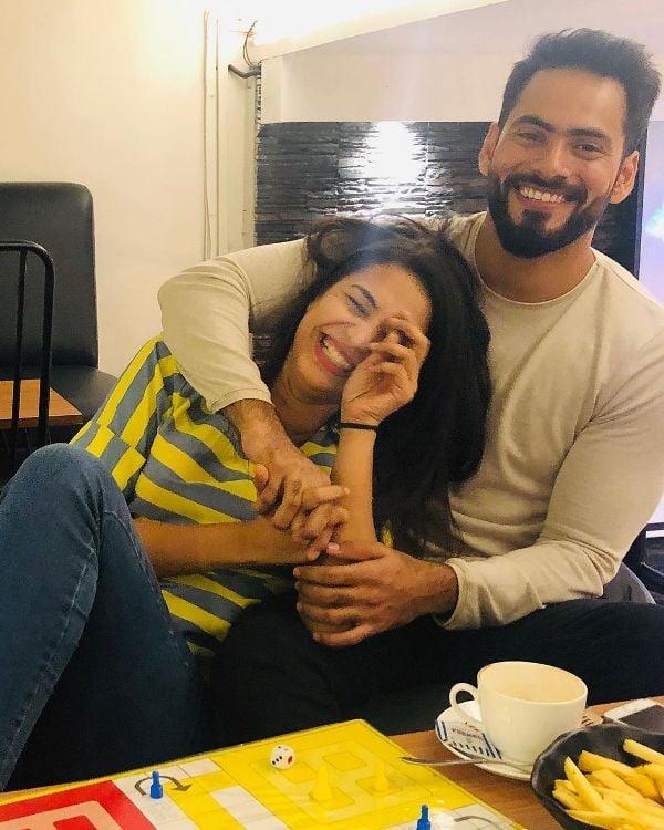 Anjali Barot with her boyfriend Gaurav