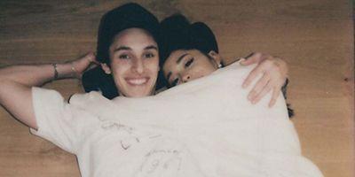 Dalton Gomez with Ariana Grande