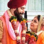 Divya with his husband Gagan